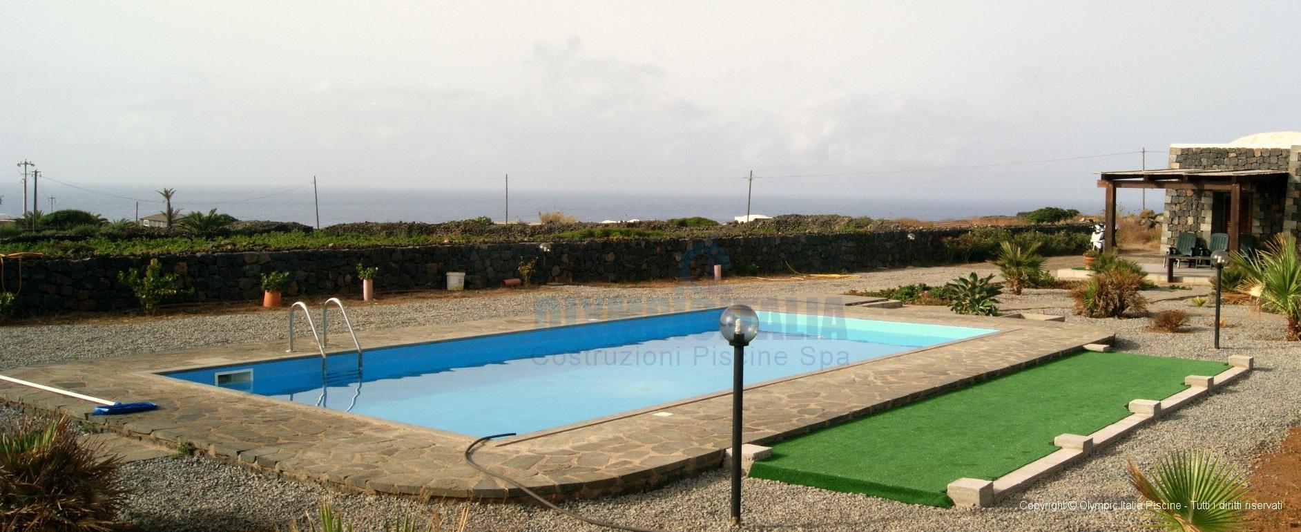 Piscine prefabbricate residence pantelleria for Residence piscine